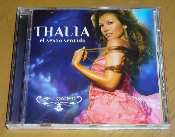 Thalia El Sexto Sentido Re+loaded Cd Importado De Usa