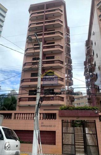 Apartamento Com 1 Dorm, Caiçara, Praia Grande - R$ 190 Mil, Cod: Cla068 - Vcla068