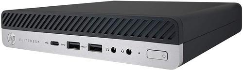 Imagen 1 de 3 de Hp Mini Elitedesk 800 G5 I7 9700t 16gb Ram Ddr4 M.2 512gb