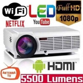 Proyector Led 5500 Lumen Hdmi Android Wifi