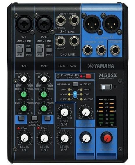 Mesa/mixer Yamaha Mg06fx - Ms0037