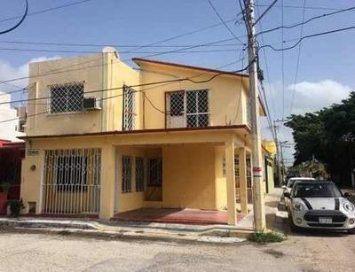 Se Renta Casa Staff/oficina O Casa Habitación En Col. Maderas