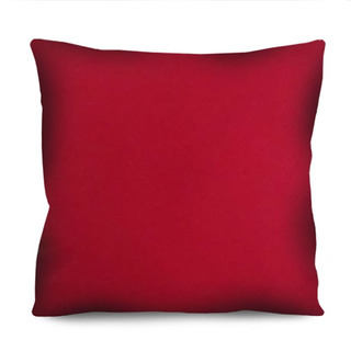 Capa De Almofada Lisa Vermelha Preta Amarela 42cm A Escolher
