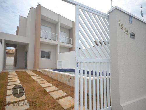 Casa E Dormitórios Com Piscina Frente Para O Mar À Venda Em Itanhaém ,são Paulo , Bairro Tupy - Ca00575 - 69226584