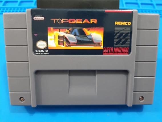 Fitas De Super Nintendo Top Gear