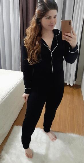 Conjunto Pijama Camisa Manga Longa E Calça