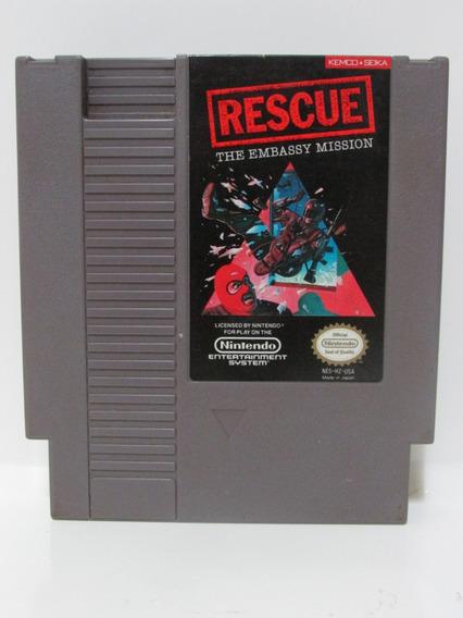 Rescue The Embassy Mission - Nintendo 8 Bits Original