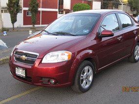 Chevrolet Aveo Lt Mod. 2011 Mt 1.6