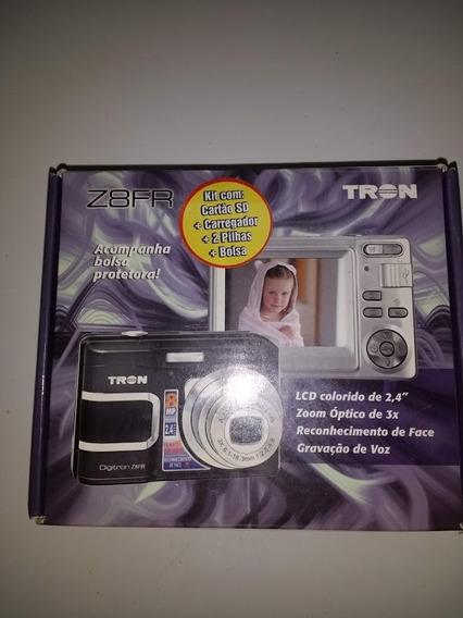 Máquina Fotográfica Tron Z8fr - Excelente Produto Na Caixa