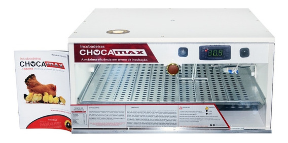 Chocadeira Ovoscópio 54 Ovos Galinha Automática (2 Chaves)