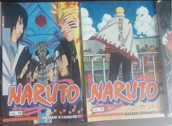 Naruto Volumes 70, 72 E Naruto Gaiden.