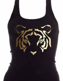 Blusa Tirantes Incomparable Tigres De Oro