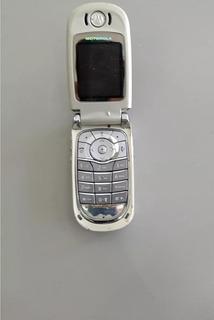 Celular Motorola V 600 Para Retirar Peças Os 001