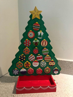 Melissa & Doug Calendario Cuenta Regresiva Navidad Adviento