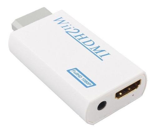 Adaptador Conector Hdmi Nintendo Wii Reescalador Conversor