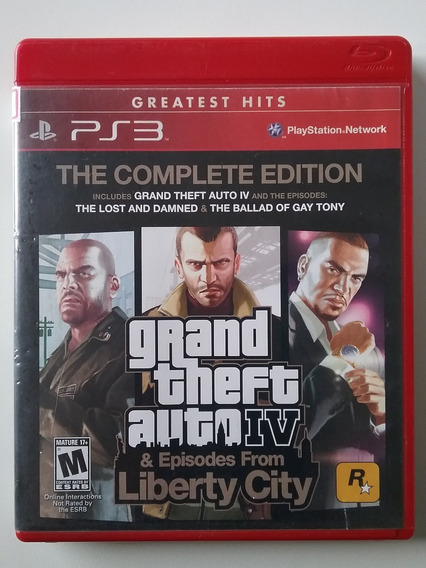 Gta 4 Complete Edition Liberty City