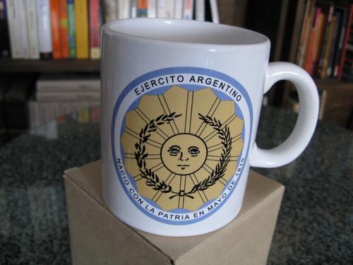 Taza De Ceramica Ejercito Argentino