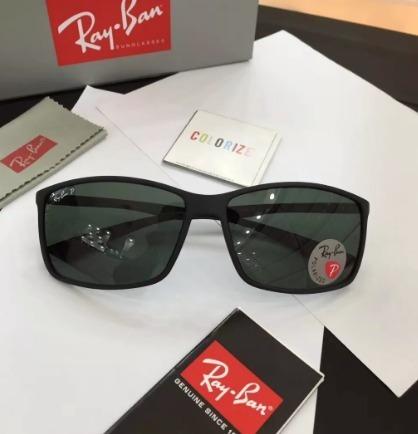 Oculos De Sol Masculino Ray Ban Polariza Rb4179 Polarizado