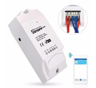 Interruptor Wifi Inteligente Sonoff 2 Canales
