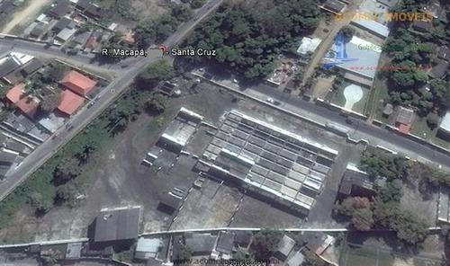 Imagem 1 de 14 de Galpões À Venda  Em Santa Cruz/rj - Compre O Seu Galpões Aqui! - 1342049