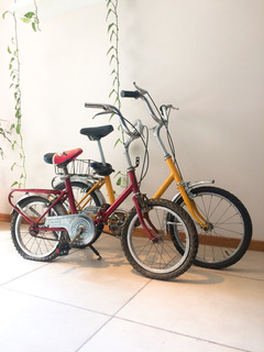 Bicicleta Plegable Vintage Restaurada Rodado 14