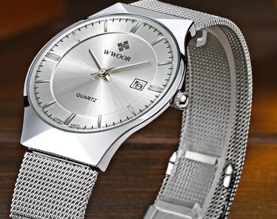 Relógio Unisex Elegantíssimo (1 Peça)