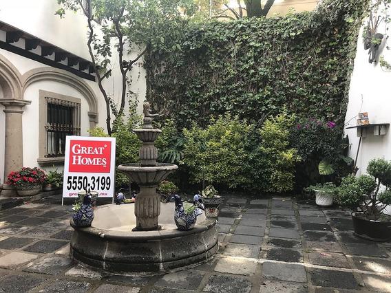 Casa Tipo Mexicano En San Angel