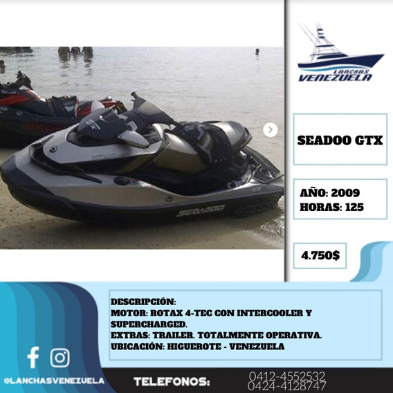 Moto Seadoo Gtx Is 255 Limited Lv367