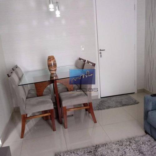 Apartamento Com 2 Dormitórios À Venda, 50 M² Por R$ 265.000,00 - Vila Aricanduva - São Paulo/sp - Ap0146