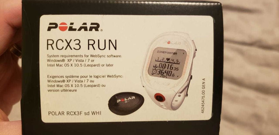 Relógio Polar Rcx3 Run Monitor Cardíaco