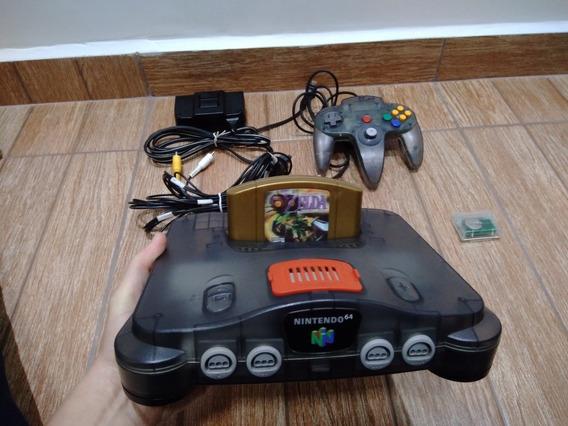 Nintendo 64 Série Sabores - Jabuticaba + Zelda Majoras Mask