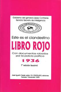Libro Rojo 1936 / 7ma. Edición Facsimil