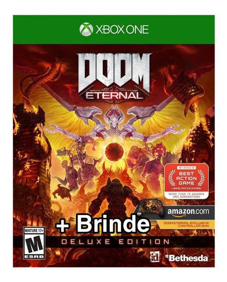 Doom Eternal Deluxe Midia Digital Xbox One + 1 Jogo Grátis