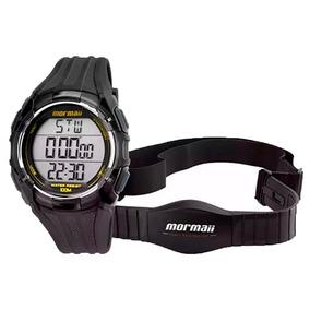 Relógio Digital Monitor Cardíaco Mormaii Tech Mo11558a/8a