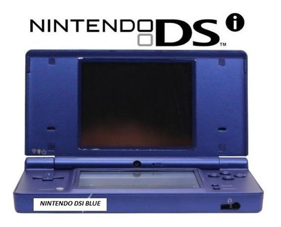 Nintendo Dsi Azul Original Nintendo Novo Com Cartão R4 Jogos
