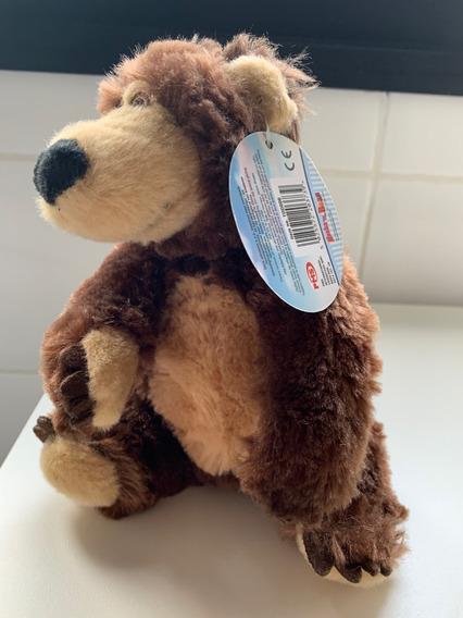 Pelucia Urso De Masha 18 Cm Novo Importado
