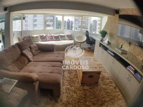 Cobertura Com 1 Dormitório À Venda, 92 M² - Vila Nova Conceição - São Paulo/sp - Co0736