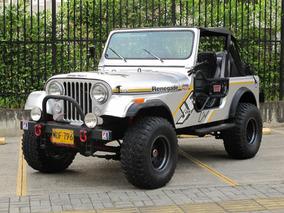 Jeep Cj7 4.2 4x4 Mt 86 Descapotable