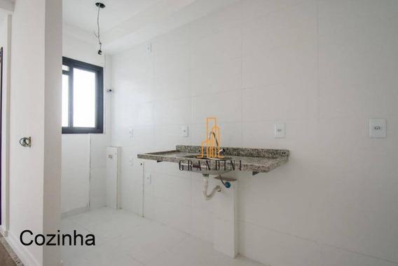 Apartamento À Venda, 41 M² Por R$ 247.000 - Vila Valparaíso - Santo André/sp - Ap1193