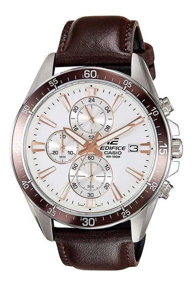 Relógio Casio Masculino Edifice Cronógrafo Efr-546l-7avudf