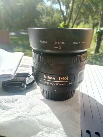 Nikon 35 Mm 1.8 G Quase Nova
