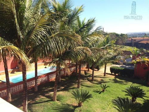 Chácara À Venda, 800 M² Por R$ 880.000,00 - Parque Da Represa - Paulínia/sp - Ch0036