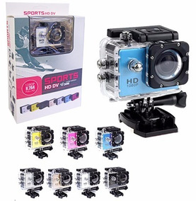 Camera Go Filmadora Pro Full Hd 1080p Sports Moto Fretegráti