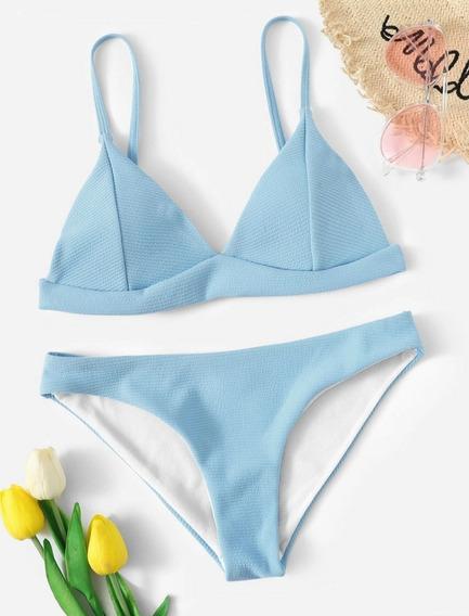 Traje De Baño Tipo Bikini, Bañador, Ropa De Playa Para Mujer