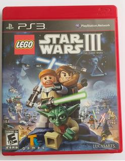Ps3 Video Juego_lego Star Wars Iii The Clone Wars En Español
