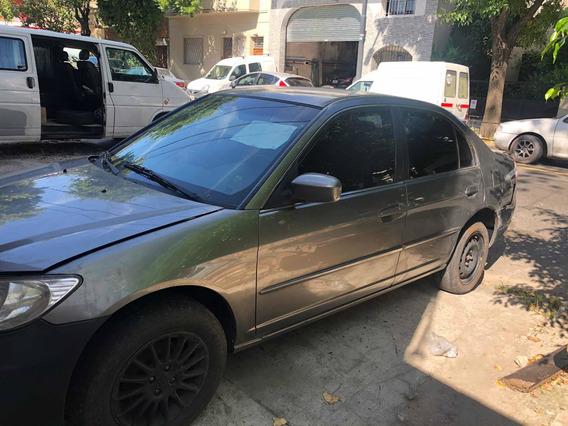 Honda Civic 1.7 Ex 2004 ( Hay Que Hacerle Motor)