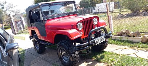 Imagem 1 de 9 de Jeep Willys 1957