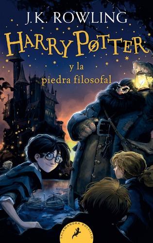 Harry Potter 1 Piedra Filosofal - Rowling - Libro Bolsillo