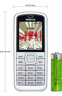 Celular Antigo Nokia 5070 Desbloqueado Bom De Sinal