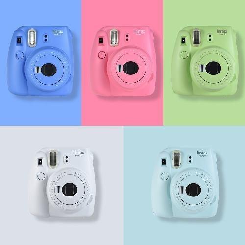Camera Fujifilm Instax Mini 9 Com Alim. Automática 1.5v